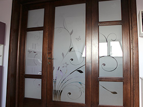productie sticla sablata